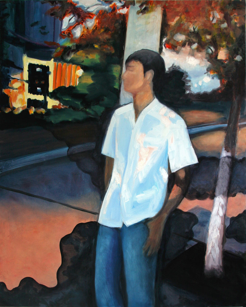 A Midsummer Night, Oil on Canvas, 60 in x 48 in, 2009