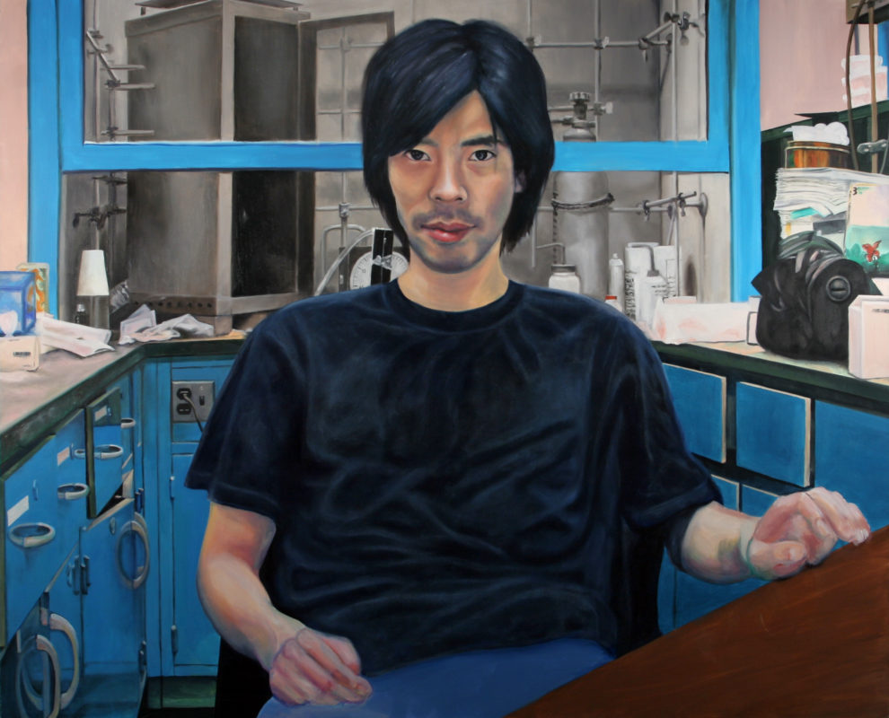 Office I, Oil on Canvas, 48 in x 60 in, 2008